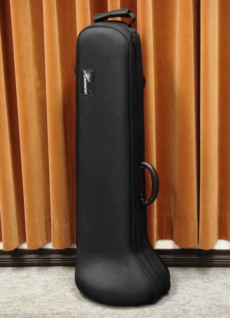 画像1: 超軽量トロンボーンスーパーライトケース(黒)