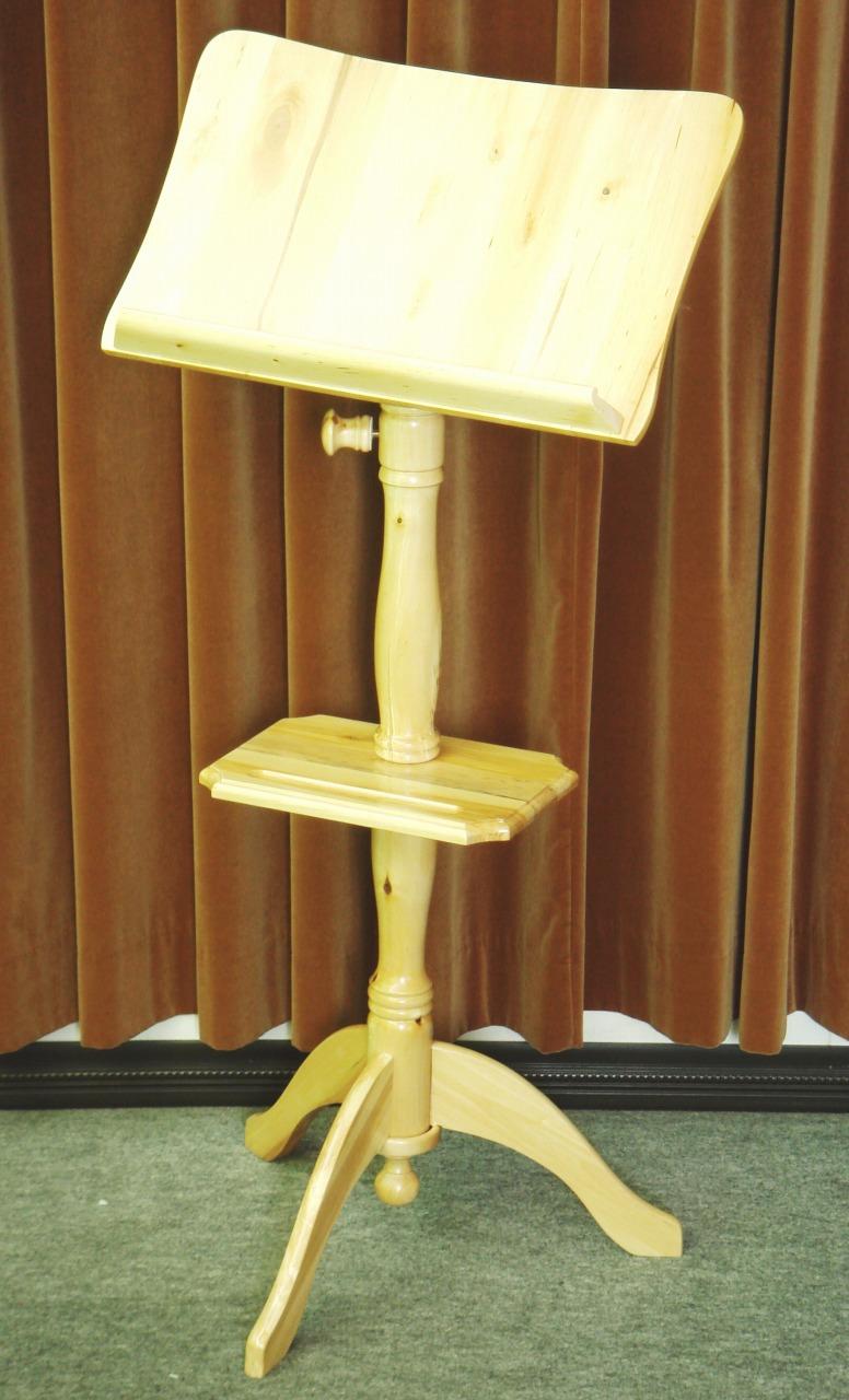 画像1: 木製譜面台