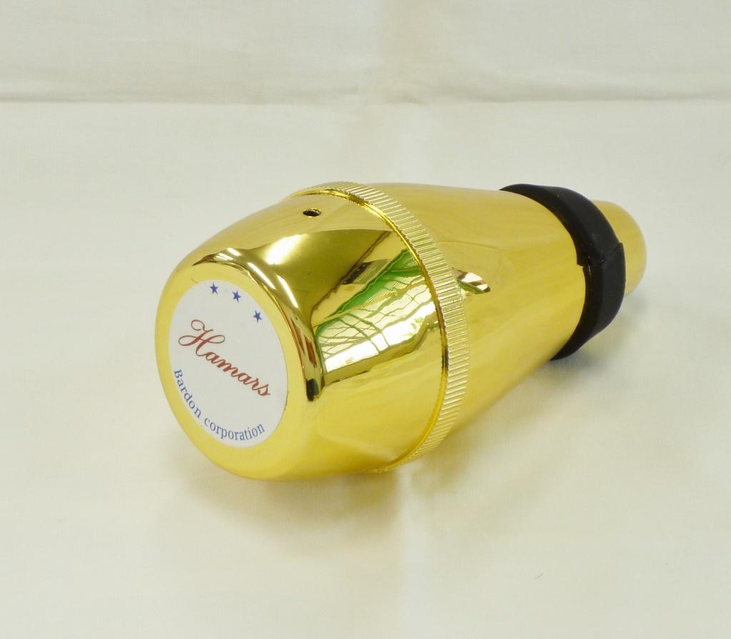 画像2: 祭りラッパ練習用弱音器・ゴールド